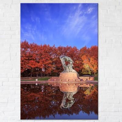 Jesień warszawa zdjęcia wydruki