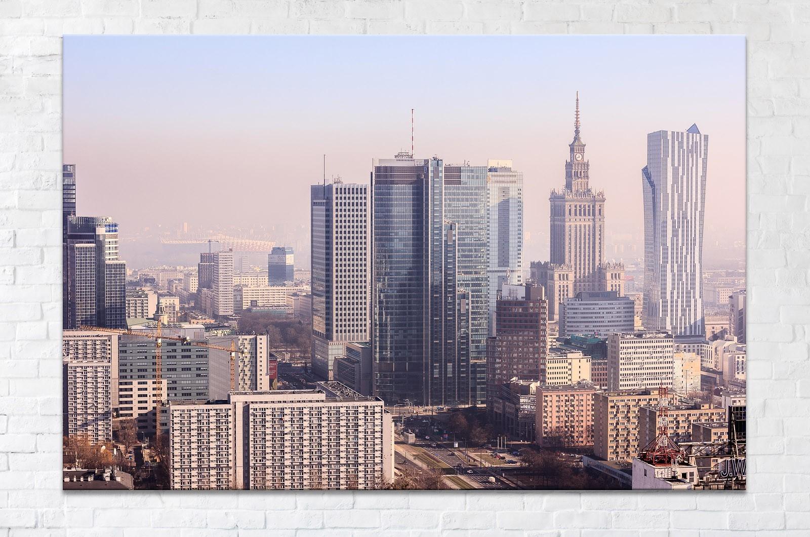 Centrum Warszawy - Fotoobraz