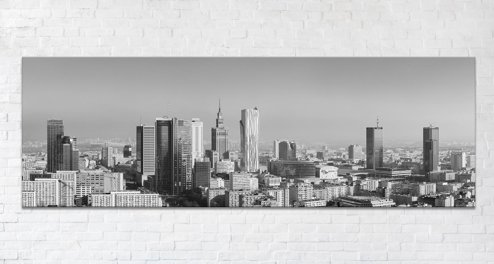 Nowa Warszawa BW Fotoobraz