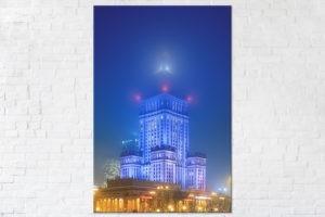 Pałac Kultury i Nauki we mgle Fotoobraz