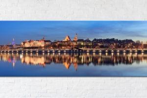 Stare Miasto po zmroku Fotoobraz