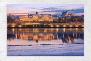 Zamek Królewski zimą Fotoobraz
