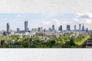 Zielona Warszawa Fotooobraz