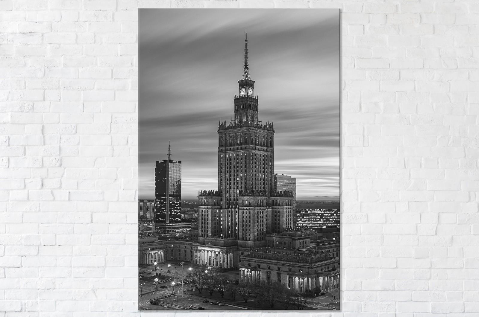 Nostalgiczny Pałac Kultury i Nauki Fotoobraz