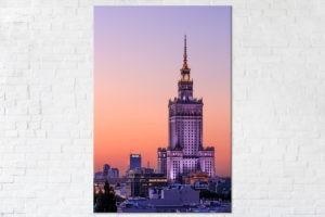 Pomarańczowy Pałac Kultury i Nauki Fotoobraz