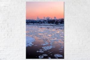Wisła zimą Fotoobraz